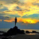 wisata pantai senggigi lombok - sunset