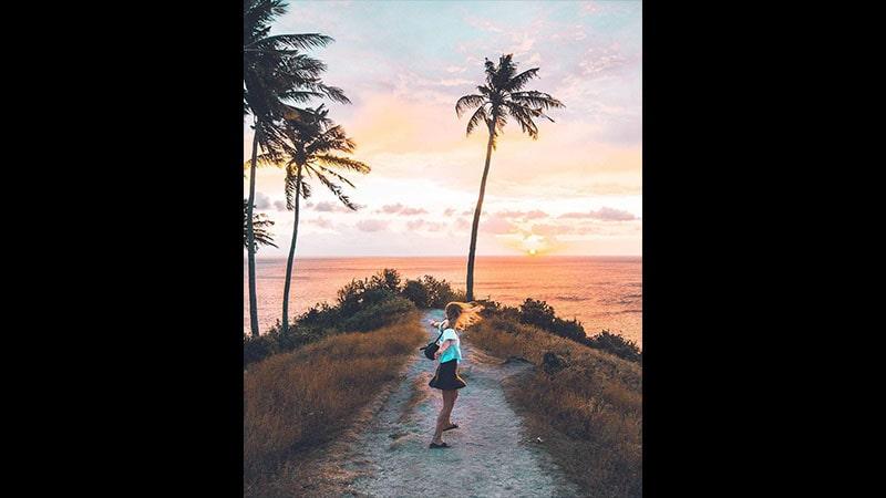 wisata pantai senggigi lombok - malimbu