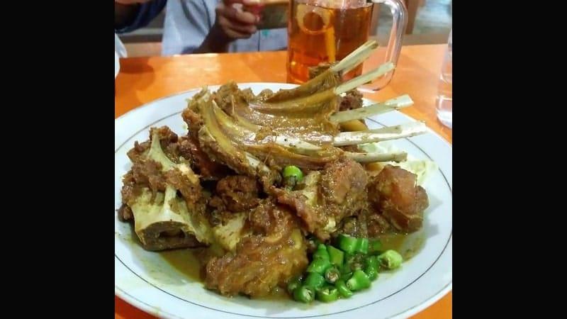 Kuliner di Jogja - Tengkleng Gajah