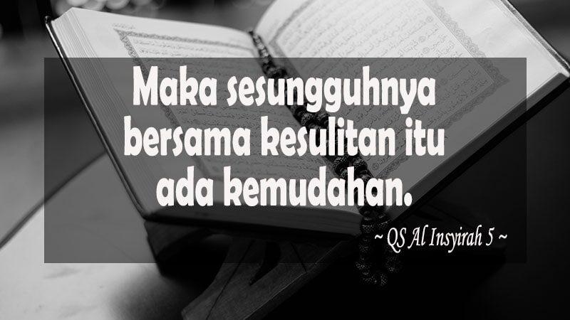 Kata-Kata Mutiara Islam - QS Al Insyirah 5