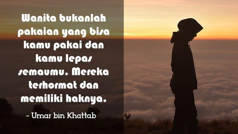 Kata-Kata Wanita Muslimah - Umar bin Khattab
