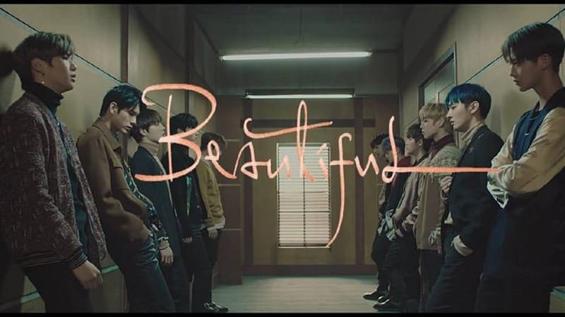 Lirik Lagu Beautiful Wanna One - Wanna One