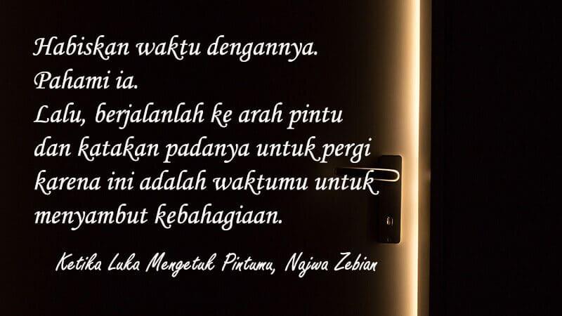 Puisi Cinta Sedih untuk Kekasih - Najwa Zebian