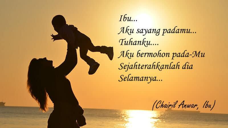 Puisi untuk Hari Ibu - Chairil Anwar