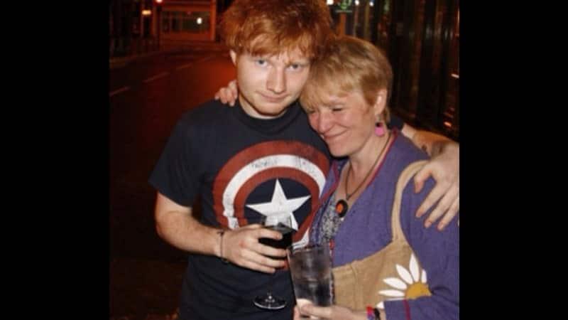 Biodata Ed Sheeran - Ed dan ibunya
