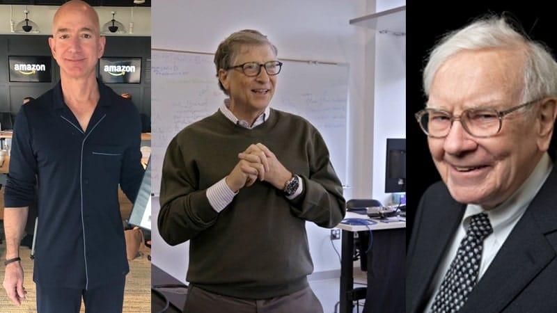 Orang Terkaya di Dunia - Bezos, Gates, & Buffett