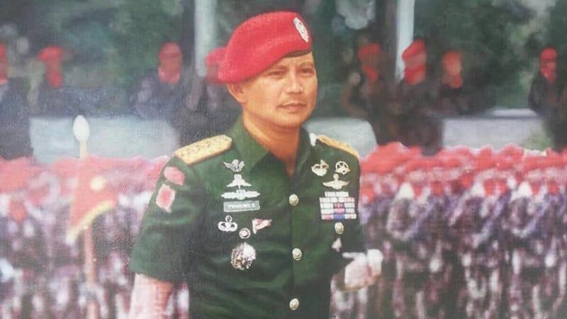 Biodata Prabowo Subianto - Karier Militer