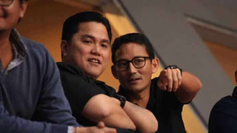 Profil Erick Thohir - Erick Sandi