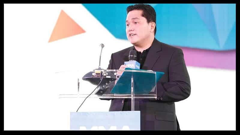 Biografi Erick Thohir - Karier Bisnis