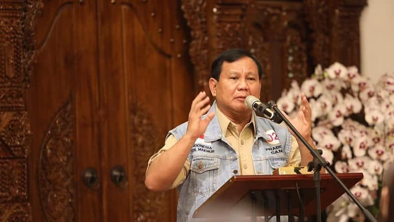 Biodata Prabowo Subianto - Karier Politik