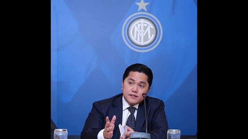 Profil Erick Thohir - Erick Inter Milan