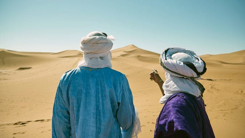 Kisah Nabi Ibrahim AS - Dua Pria Arab