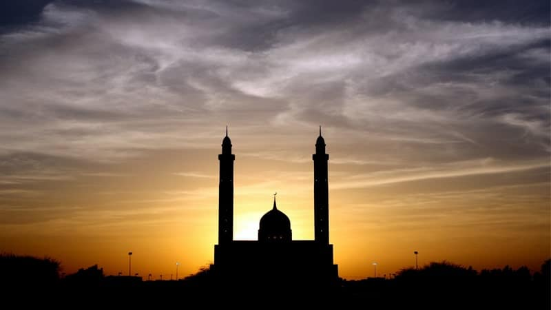 Kisah Nabi Ibrahim AS - Siluet Masjid