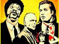 film drama terbaik sepanjang masa - poster pulp fiction