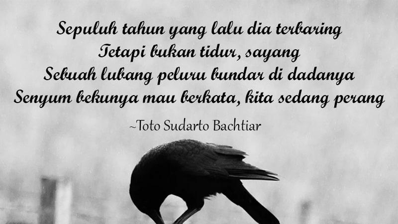 Contoh Puisi tentang Pahlawan - Toto Sudarto Bachtiar