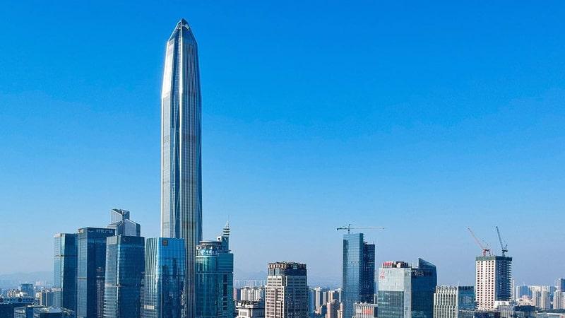Gedung Tertinggi di Dunia - Ping An Finance Center