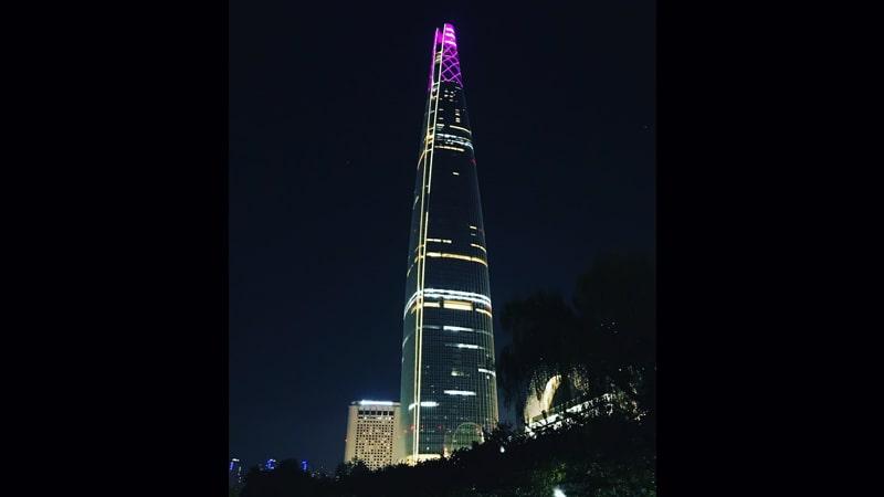Gedung Tertinggi di Dunia - Lotte World Tower
