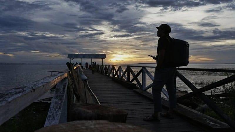 Danau Terbesar di Indonesia - Danau Rombebai