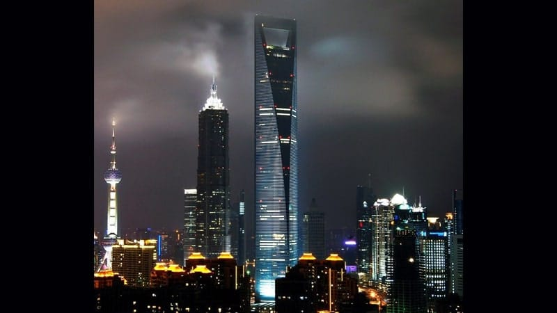 Gedung Tertinggi di Dunia - Shanghai World Financial Center