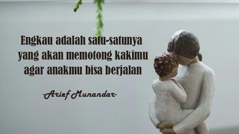 Puisi Pengorbanan Seorang Ibu - Arief Munandar