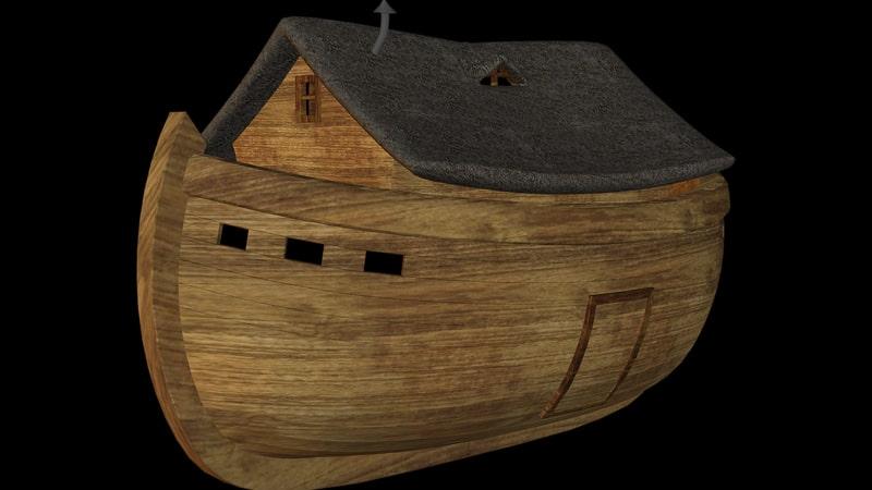 Kisah Nabi Nuh AS - Kapal Laut