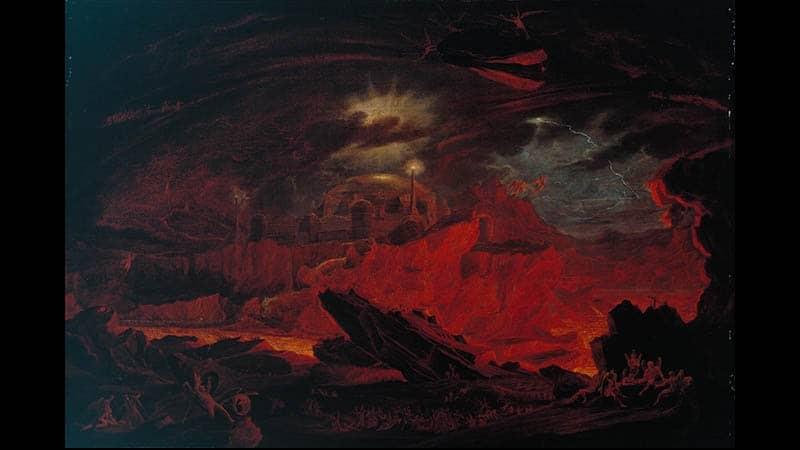 kisah nabi idris as - ilustrasi neraka