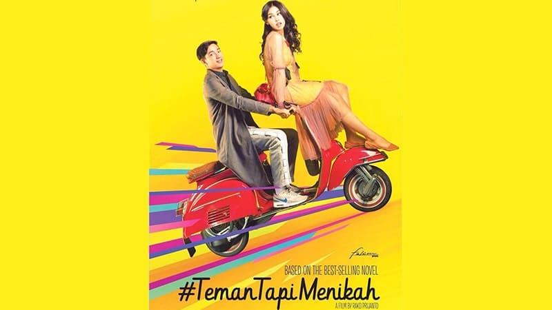 Film Teman tapi Menikah - Poster Film Teman tapi Menikah