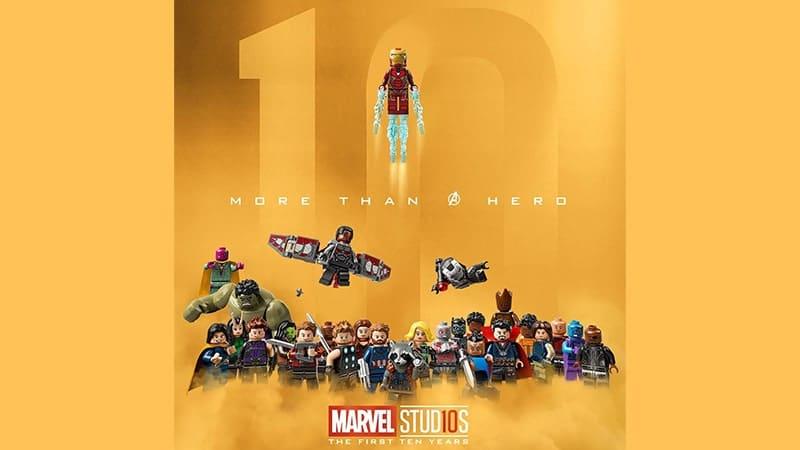 Film Avengers Infinity War - Avengers Infinity War Versi Lego