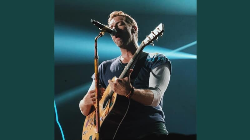 Profil dan Biodata Coldplay - Chris Martin