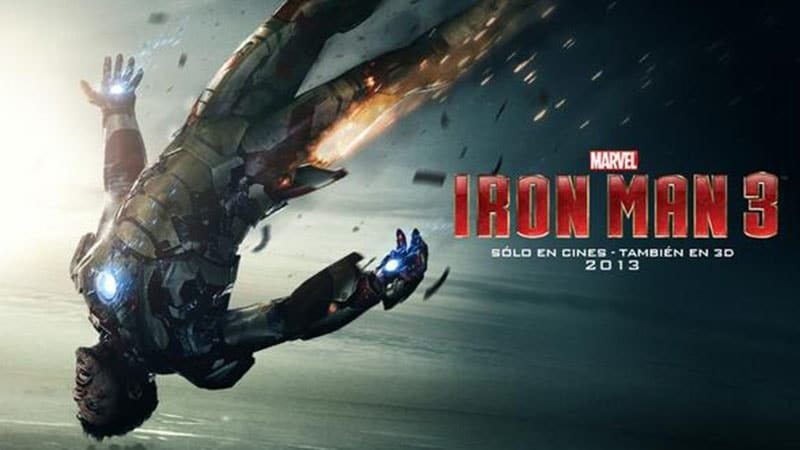 Film Iron Man 3 - Tony Stark Jatuh