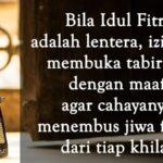 Ucapan Selamat Idul Fitri - Anonim Lentera