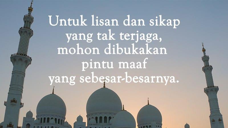 Ucapan Selamat Idul Fitri - Anonim Bahasa Indonesia