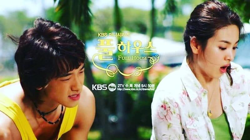Drama Korea Full House - Han Ji Eun Belajar Sepeda