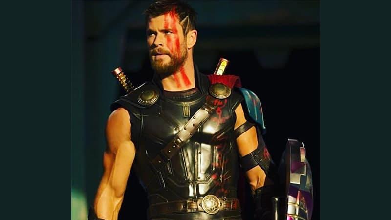 Film Thor Ragnarok - Chris Hemsworth sebagai Thor