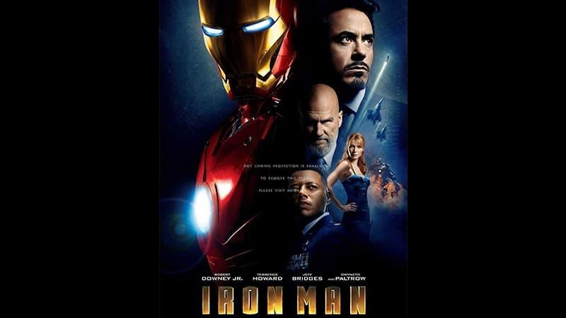 Film Iron Man 1 - Poster Film Iron Man 1