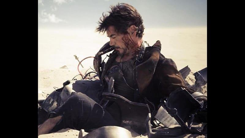 Film Iron Man 1 - Robert Downey Jr. sebagai Tony Stark
