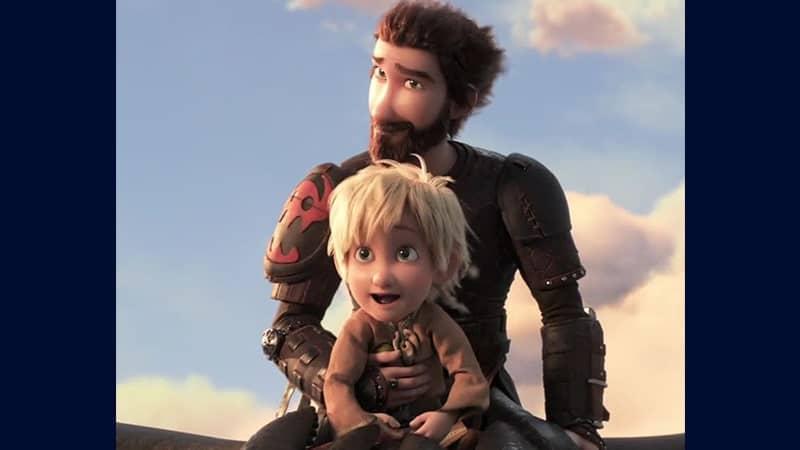Film How to Train Your Dragon 3 The Hidden World - Potongan Adegan Film