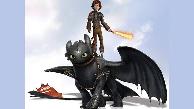 Film How to Train Your Dragon 2 - Hiccup Menunggangi Toothless