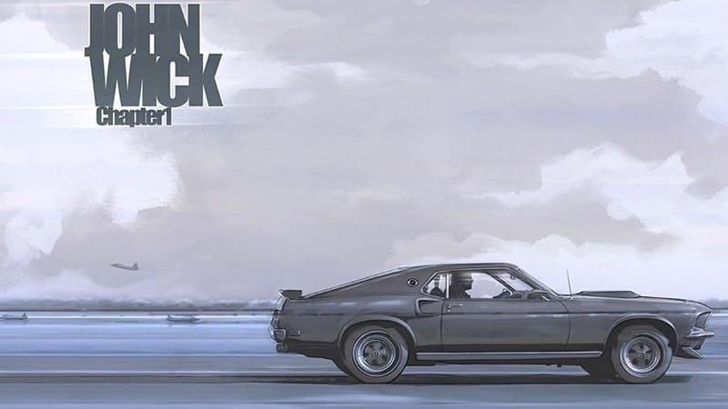 Film John Wick 1 - Fanart