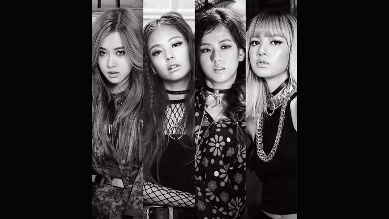 Foto Single BOOMBAYAH - Rose, Jennie, Jisoo, Lisa