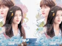 The Legend of the Blue Sea - Poster Drama