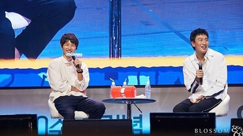 Song Joong Ki dan Lee Kwang Soo