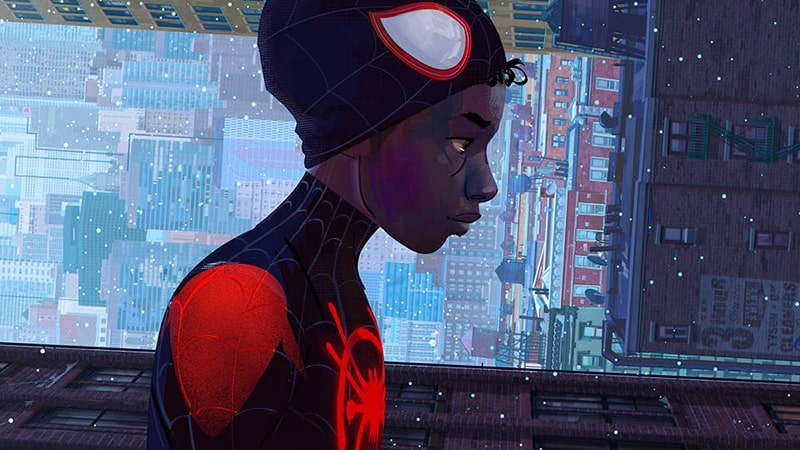 Film Spider-Man Into the Spider-Verse - Miles Morales