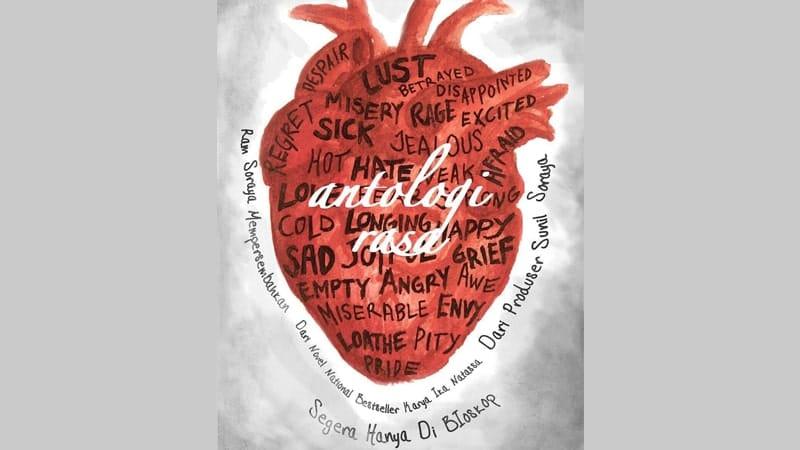 Film Antologi Rasa - Poster Film yang Diadaptasi dari Cover Buku Antologi Rasa