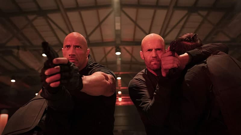 Film Hobbs and Shaw - Salah Satu Adegan Film Hobbs and Shaw