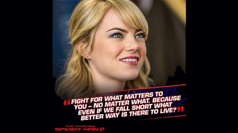 Film The Amazing Spider-Man 2 - Gwen Stacy
