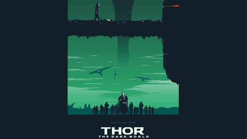 Film Thor The Dark World - Poster Fanart