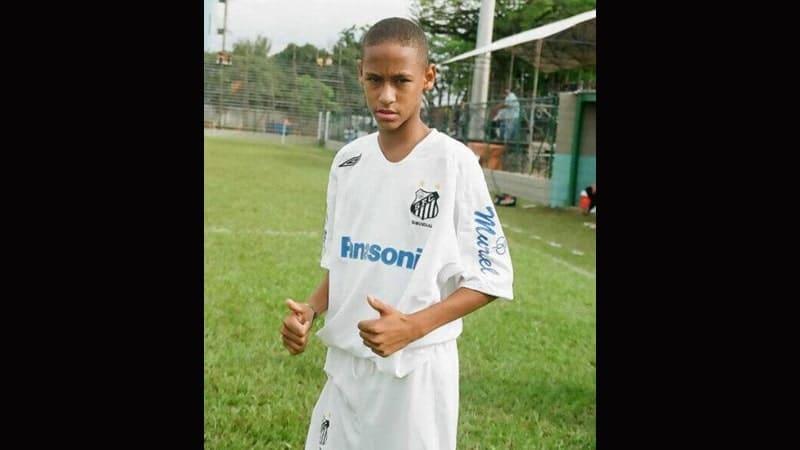 Profil Neymar - Masa Kecil