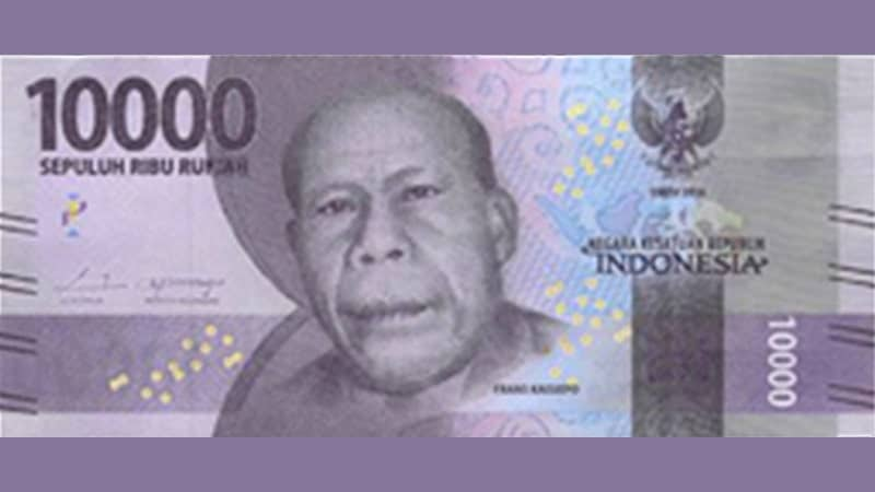 Biografi Frans Kaisiepo - Uang Sepuluh Ribu Rupiah