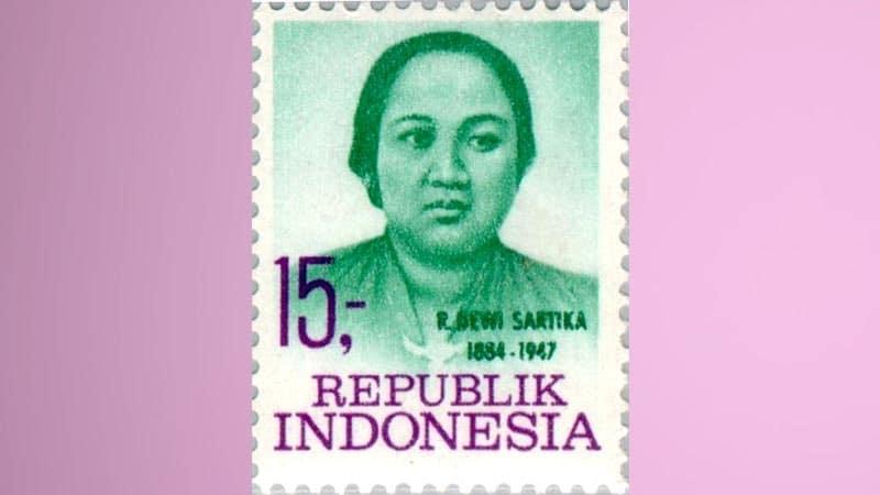 Prangko Dewi Sartika